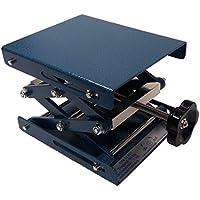 Neolab électrique 1707Lab polissage Pad Lift, léger avec revêtement en poudre en métal martelé en acier 160mm x 130mm