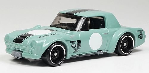 Preisvergleich Produktbild HOT WHEELS® Fairlady 2000 - 1:64 - blassgrün (Edition Legends of Speed 2017)