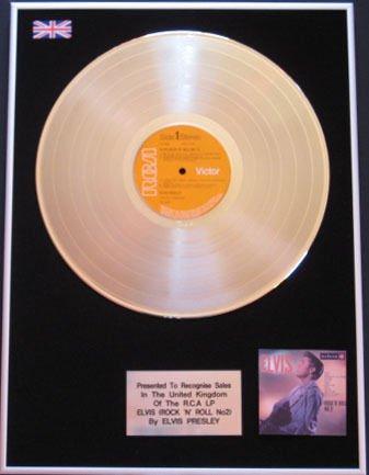 Elvis Presley-LP Platinum, motivo Rock Rock'N'roll anni '50 N. 2
