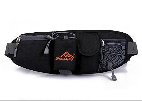 Zll/esterni per pacchetto per uomini e donne corsa Sport utilità brocche piccole borse casual Borsette, rosso nero