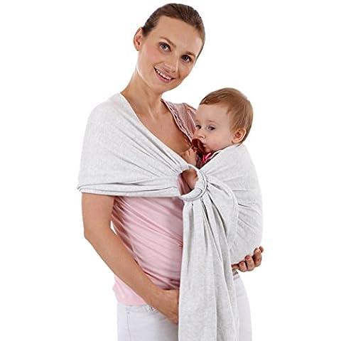irina Echarpe de Portage des Bébés, irina Echarpe Multifonctionnel pour les Bébés-100% cotton Matériau respirant et doux qui le rend frais et confortable (length about 2.2m,