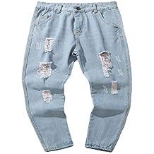 Jeanshosen Herren Manadlian Männer Biker Jeans Frühling Herbst Hose Denim  Baumwolle Jahrgang Waschen Hiphop Vintage Beiläufig 8cff3e5825
