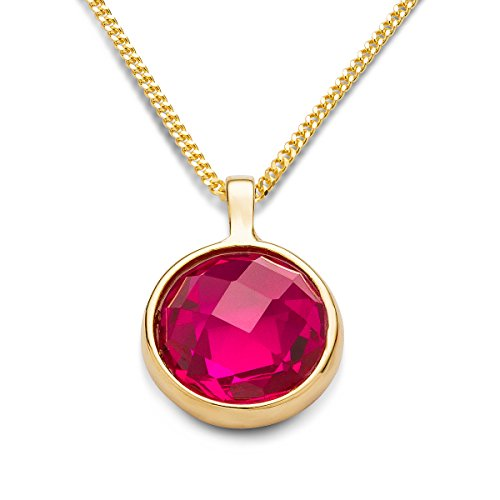 miore-womenss-round-cut-garnet-bezel-pendant-on-45-cm-chain-9-ct-yellow-gold-necklace