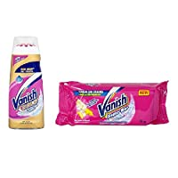 Vanish Gold Pre Treat Stain Remover Gel 200Ml & Stain Removal Bar 75g Combo