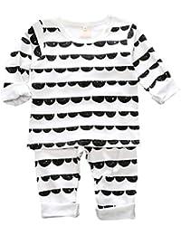 Baby Girl Girl Sleepsuit 100% algodón pijamas conjunto ropa de dormir conjunto de ropa diseño unisex
