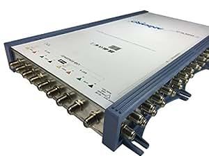 Ankaro PMSE 924, commutateur multiple avec bloc d'alimentation, (Cosmologie) actif, convient uniquement pour une utilisation avec 2S) LNB Quattro.