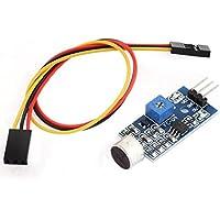 Módulo Sensor de 5V 3 pines de un solo canal de sonido del vehículo inteligente de MCU
