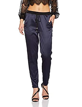 VERO MODA Women's Chino Pants (10184292-1856289001_Navy Blazer_x-Small)