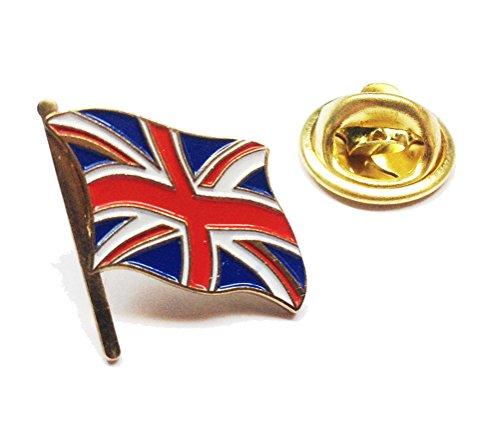 Union Jack Badge Metall Button Pin Pins Anstecker zum Sammeln