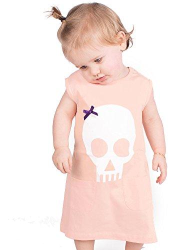 Alternative Baby-Mädchen-/Baby-Kleidung oder andere, Punk-, Gothic, Geschenk, Mädchen, Baby, Mädchen, für Babys und Kleinkinder, Mädchen, Größen-) Baby Moo (Macht Ein Kind Das Piraten Kostüm)