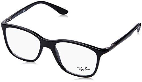 Ray-Ban Unisex-Erwachsene 0rx 7143 2000 51 Brillengestelle, Schwarz (Black)