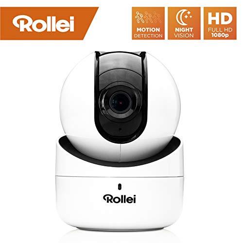 Rollei SafetyCam 100 | WLAN HD Überwachungskamera mit Bewegungsm...