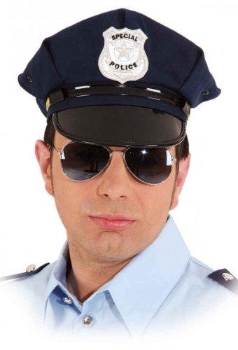 Orlob 23460.0-58 amerikanische Polizeimütze blau KW 58 Karneval Uniform-Mütze...