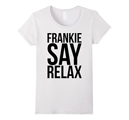 Frankie Say Relax 80s T-shirt for Women