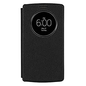 LEAF LG G4 Flip Cover, Slim Flip Case Cover, Protective and Stylish Case for LG G4 (Black