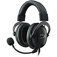 HyperX Cloud II Cuffie Gaming per PC/PS4/Mac/Mobile, Nero (Gun Metal)