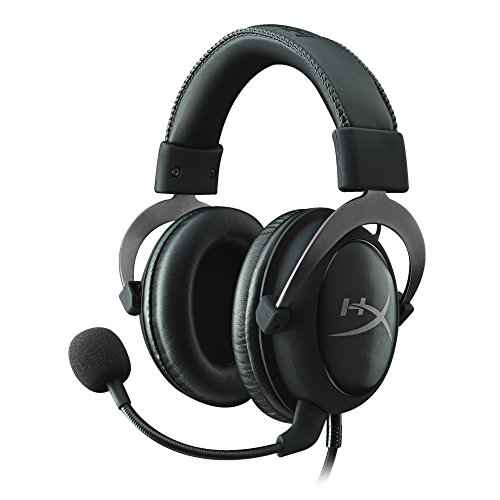 HyperX Cloud II GM Cuffie Gaming per PC/PS4/Mac/Mobile, Nero (Gun Metal)