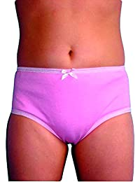 Girls Protective Brief-XS-Pink