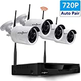 Active Pixel AUTO-Pair Wireless System 4 Channel HD Wireless NVR kit with 4x720p