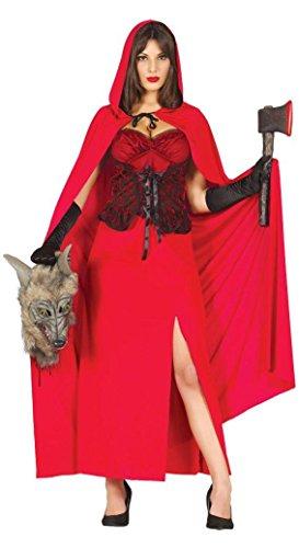 RIN - Größe 38-40 (M) (Kapuzen-jägerin Halloween-kostüm)