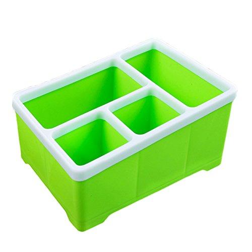 Dosige 1pcs Vielseitig Schmuckkästchen Schubladenbox Schminke Aufbewahrungsbox Allzweckkiste für Make Up und Schmuck (Grün)