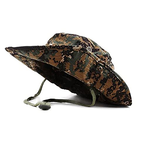 QMFIVE Outdoor Multicolor Sunscreen Chapeau Rounded Hat pour Tactical Airsoft Paintball Climb Camping