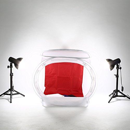 Amzdeal kit Tenda Studio cubo di 60