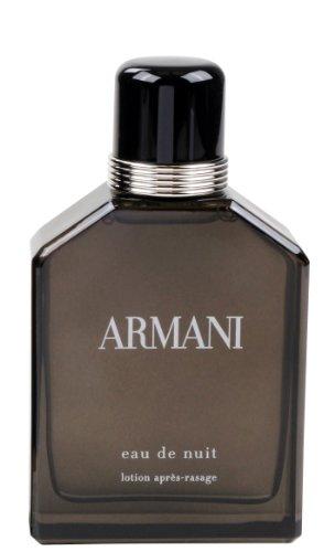 Giorgio Armani Eau de Nuit homme/men, Aftershave 100 ml, 1er Pack (1 x 100 ml) - Armani After Shave