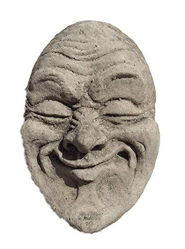 Stein Gargoyle Medievil Face Garten Ornament