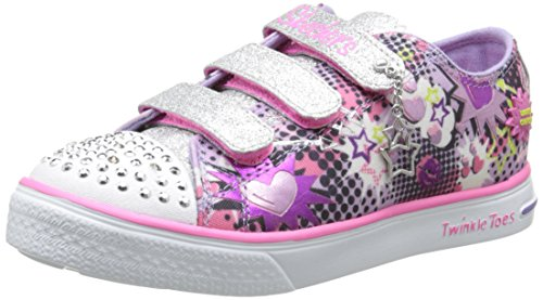 skechers-twinkle-breeze-pop-tastic-baskets-basses-fille-multicolore-mauve-33-eu