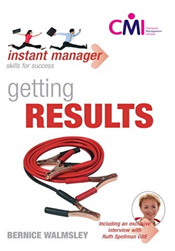 Instant Manager: Getting Results (English Edition)