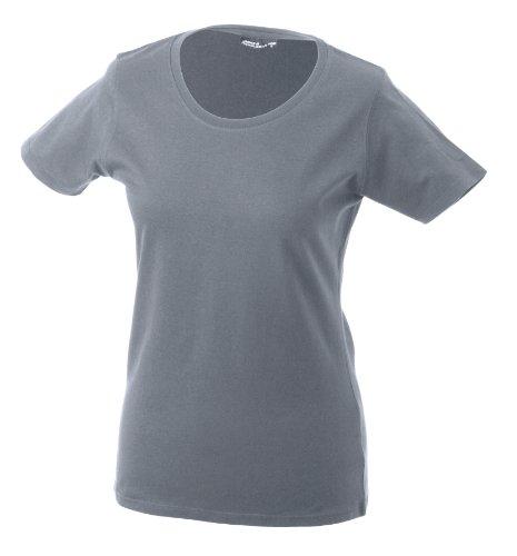James & Nicholson Damen T-Shirt Greyheather