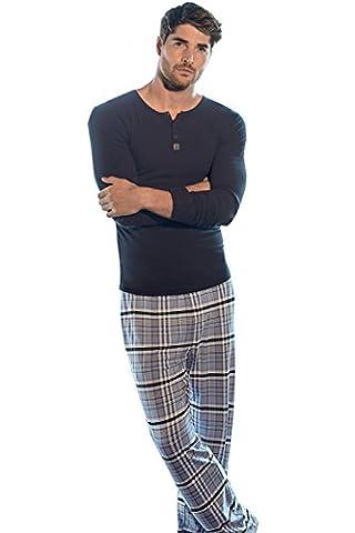 Jockey - Bas de pyjama - Homme - Gris - Medium