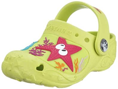 Skechers Toddler Lovevines Lime Eva/w/sea Creature Trim Mules and Clogs Sandal 86910n 9 Child Uk