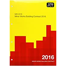 JCT:Minor Works Building Contract 2016 (MW) (Jct Contracts)