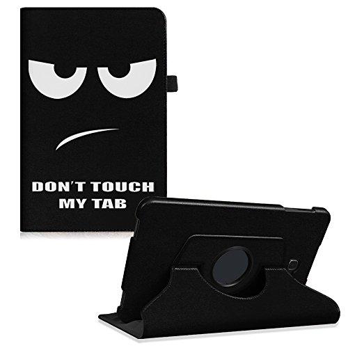 Case Tablet Stand (Fintie Samsung Galaxy Tab A 10.1 Hülle - 360° Drehbarer Stand Cover Case Schutzhülle Tasche Etui mit Ständerfunktion Auto Schlaf / Wach Funktion für Samsung Galaxy Tab A 10,1 Zoll T580N / T585N Tablet (2016 Version), Don't Touch)