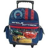 Disney Cars Mochila portatil Pequeña con rueda trolley