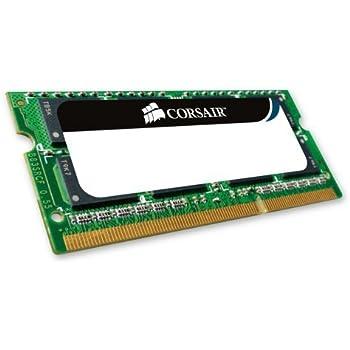 Corsair CMSA4GX3M1A1066C7 Apple Mac 4GB (1x4GB) DDR3 1066Mhz CL7 Mémoire pour ordinateur portable SODIMM pour produits Apple.