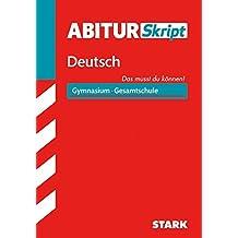 Abiturskript Deutsch