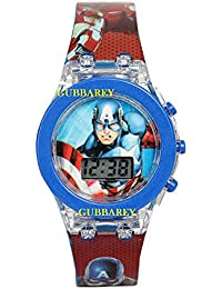 Gubbarey Kids Analog Light Watch - for Boys and Girls (Avenger)