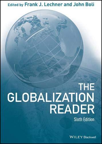 Globalization Reader por Frank J. Lechner