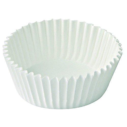 Dr. Oetker Papier-Backförmchen Ø 5 cm, weiße Muffinförmchen aus Papier, Förmchen für Cupcakes, Muffins und Pudding - hitzebeständig bis 220 °C (Menge: 150 Stück) Papier Muffin