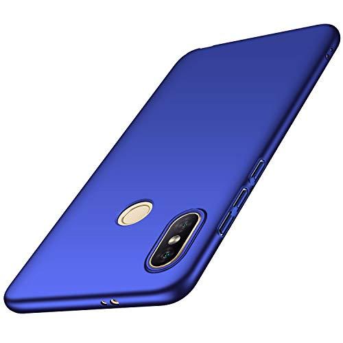 Avalri für Xiaomi Redmi Note 5 Pro Hülle, Ultradünne Handyhülle Hardcase aus PC Stoß- & Kratzfest Kompatibel mit Xiaomi Redmi Note 5 (Glattes Blau)