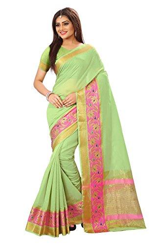 Royal Export Women\'s Cotton Silk Saree