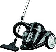 Kenwood Canister Vacuum Cleaner, Cyclonic with HEPA Filter, 2200Watts, VC7050, Black