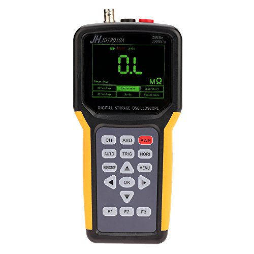 KKmoon Handheld Multifunktional Digital 1CH Oszilloskop Rahmen Portable Meter 20MHz 200msa/s Multimeter 4000Konten Handheld-multimeter