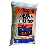 Arena silex filtrante 0,4-08 saco 25kg