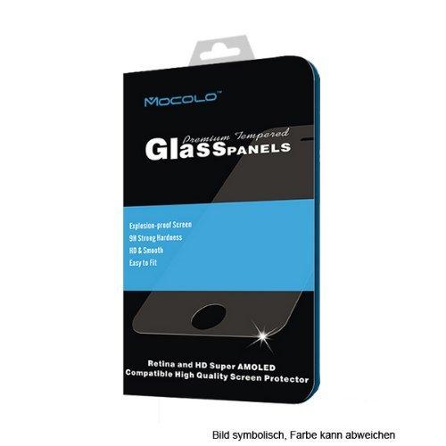 Tempered Glass Hartglas Displayschutz für Samsung Galaxy S5 I9600 SM-G900 nur 0,3mm dünn, 9H *2.5D round edge*