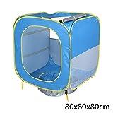 ICVDSRG Tenda 80 * 80 * 80Cm al Coperto O All'Aperto Protezione Solare Piscina Spiaggia Tenda Gioco Automatico,Blue,80 * 80 * 80cm