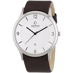 Obaku Harmony Herren-Armbanduhr Extra gross V132X CIRN